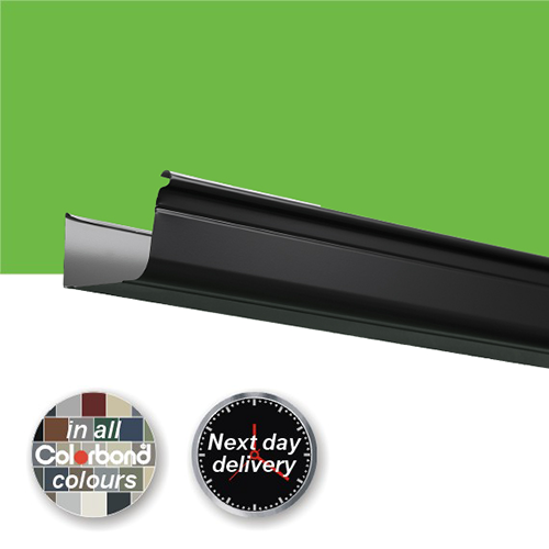 Quad 150 High Front Unslotted Gutter