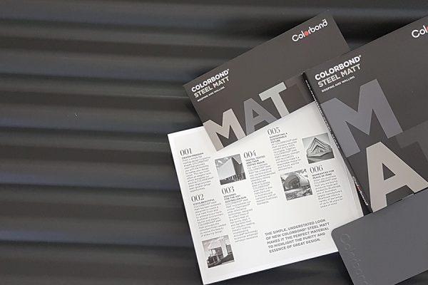 Colorbond Matt Steel