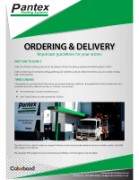 Ordering & Delivery Guidelines