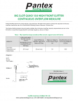 QUAD 150 BIG SLOT HF GUTTER FORM 15